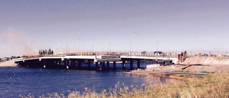 Galvanised Bridge Rails for Davbridge Constructions