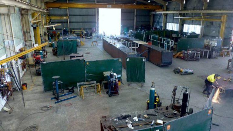 Workshop - Complex Steel Fabrications - Neumann Fabrication