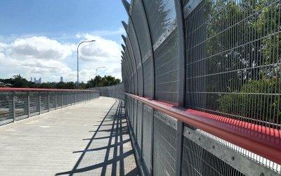 South East Freeway Cycleway - Steel Fabrication