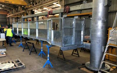 Fabricated Steel VMS Structure